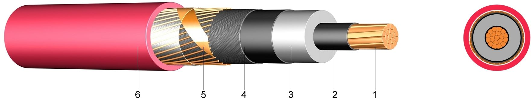 Constrution Xlpe Insulated Cable : N xsy kv xlpe insulated single core cable with